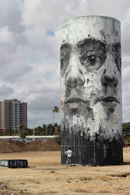 Street Art By Borondo For The Festival Concreto On The Beach Of Fortaleza, Brazil. 4