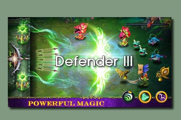 Defender III - Δωρεάν παιχνίδι για κινητά με επικές μάχες