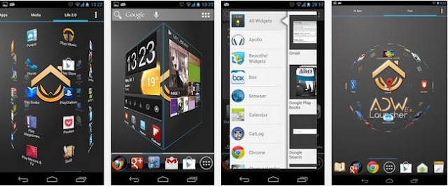Download ADWLauncher EX terbaru versi 1.3.3.9