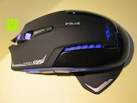 oben: LIHAO E-3lue® MAZER-R EMS152 Gaming Maus kabellos 2.4GHZ 2500DPI, USB, LED