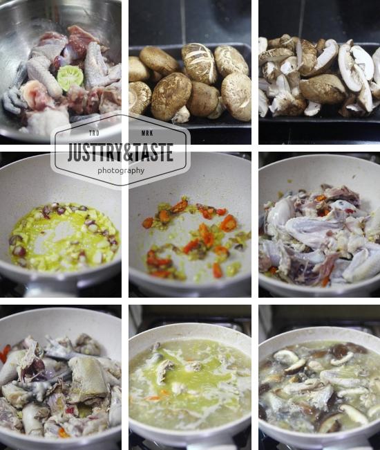 Resep Sup Ayam Kampung dan Jamur JTT