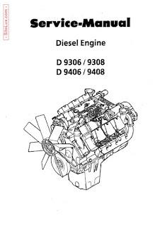 Liebherr D9306, D9308, D9406, D9408 Diesel Engine Service