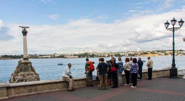 Monumento delle navi affondate sebastopoli