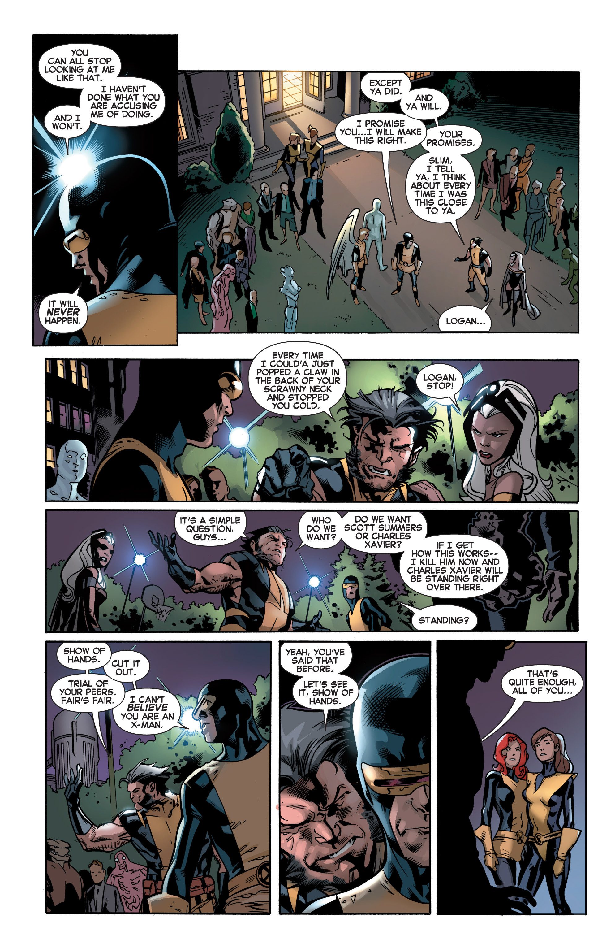 Read online All-New X-Men (2013) comic -  Issue # _Special - Yesterday's X-Men - 97
