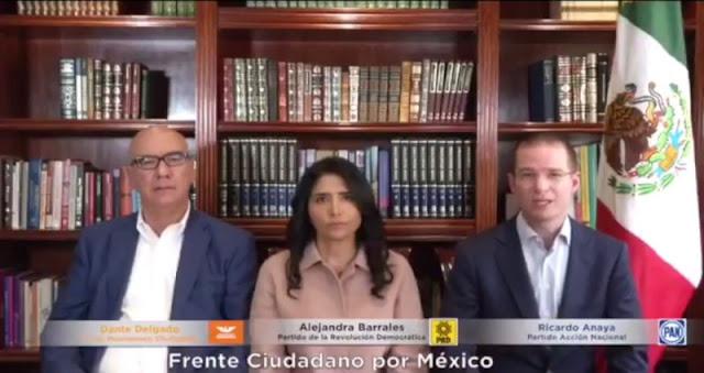 Frente Ciudadano plantea donar a damnificados el 100% del presupuesto para campañas.