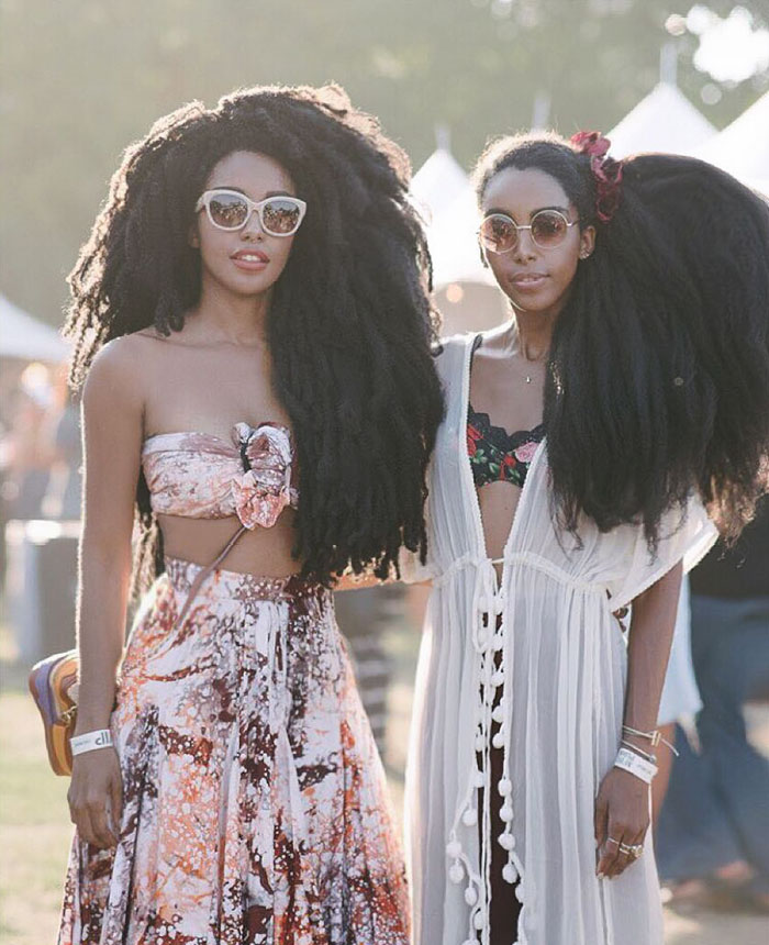 But the sisters aren't just pretty faces - These Twin Sisters Were Ashamed Of Their Incredible Hair, But Now They Became Famous For It