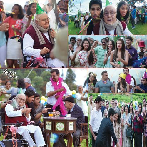 saat gembira bersama keluarga, bollywood world, filem hindustan happy ending