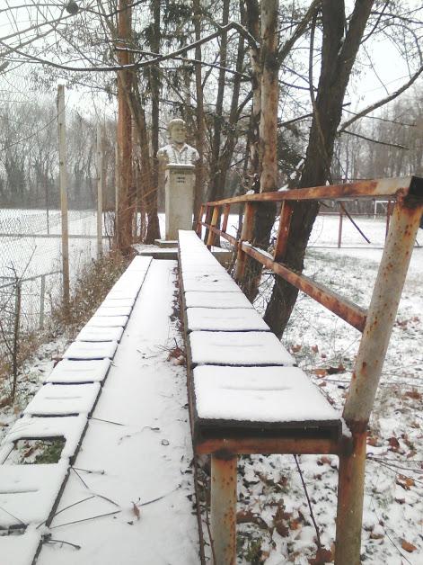 Yambol Tennis Club, Benches, Yambol, Winter, Snow,