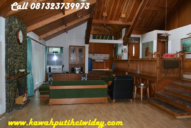 Berwisata dan menginap di villa kawah putih dari denpasar