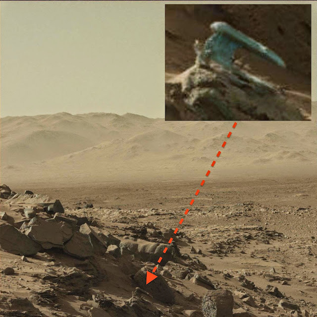 UFO SIGHTINGS DAILY: Alien Hand Weapon Found On Mars, May ...