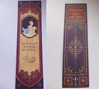 Free bookmark Belle Magic Kingdom