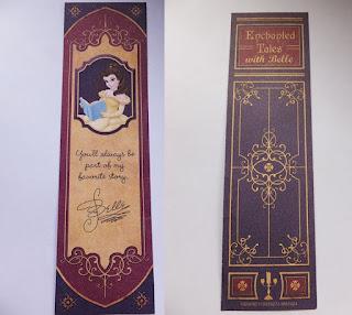 Magic Kingdom Beauty and the Beast bookmark
