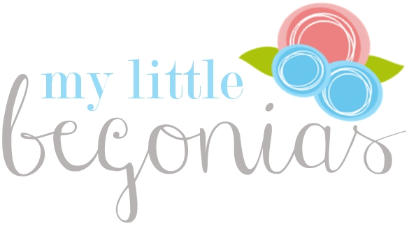 My Little Begonias January 2013