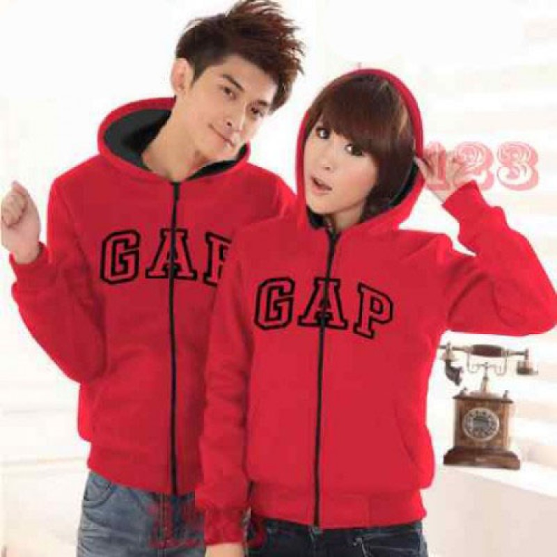 Jual Jacket Couple Jacket GAP Merah - 23091