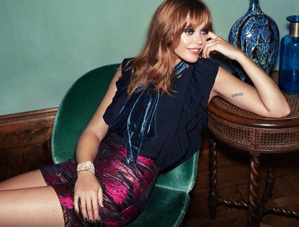 Ropa de fiesta mujer H&M catálogo Go Glam