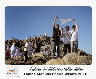 Lomba Menulis Cheria Wisata 2016
