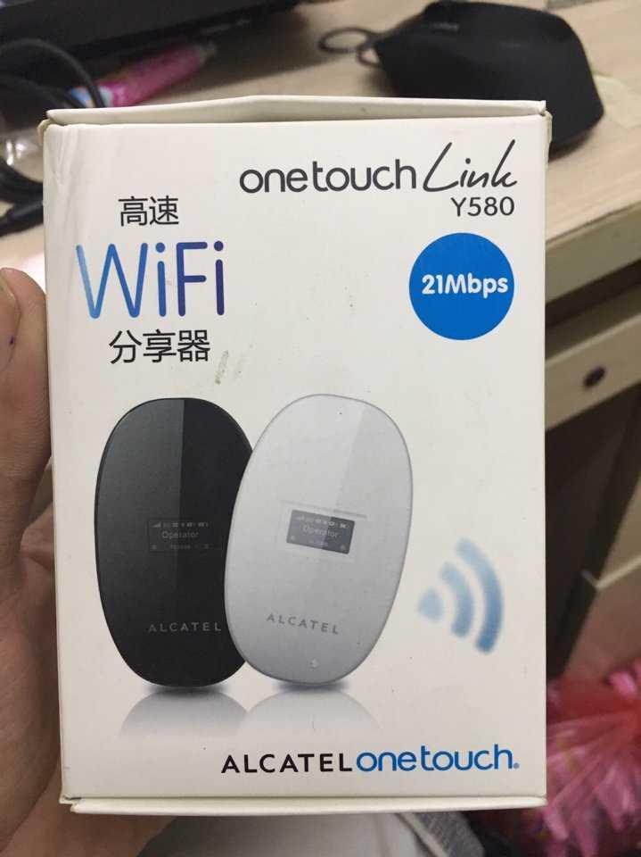 Thiết bị phát wifi từ sim 3G One Touch Alcatel Y580 giá sỉ và lẻ rẻ nhất