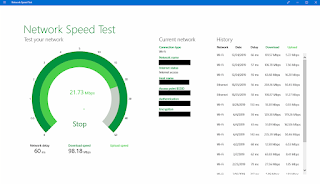 Network Speed Test Windows 10