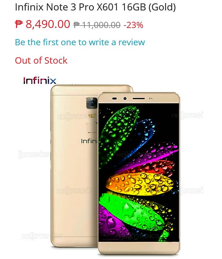Three New Infinix Smartphones Coming Soon To Lazada Philippines