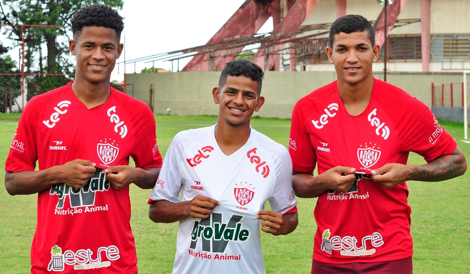 21b387e4e Noroeste apresenta mais três jovens reforços para o Paulistão 2019 ...