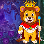 Games4King Monarch Lion Rescue Walkthrough