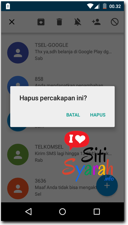 tips keamana sms banking di Android