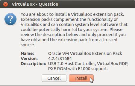 ORACLE 4.2.4 VIRTUALBOX TÉLÉCHARGER VM