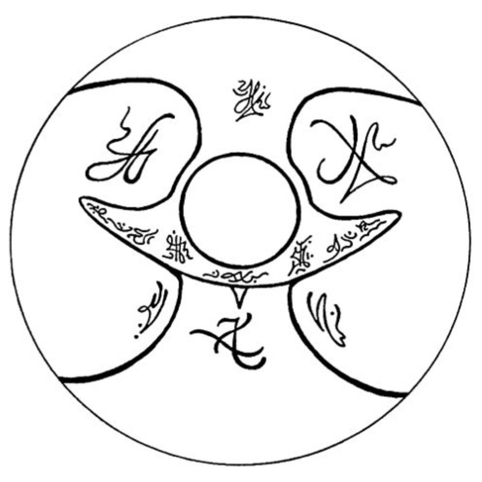 Alcuin and Flutterby: Extraterrestrial symbols of