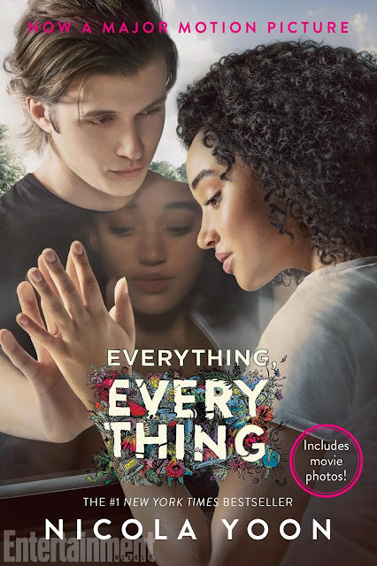 Everything, Everything by Nicola Yoon, Everything Everything book reaview, Nicola Yoon, Everything Everything movie