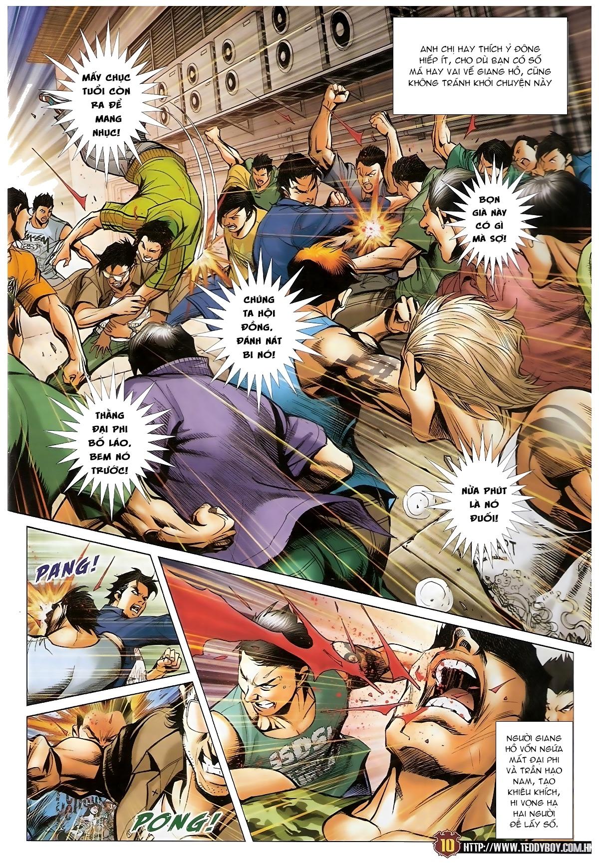 Người Trong Giang Hồ - Chapter 1548: Cha con ra trận - Pic 9