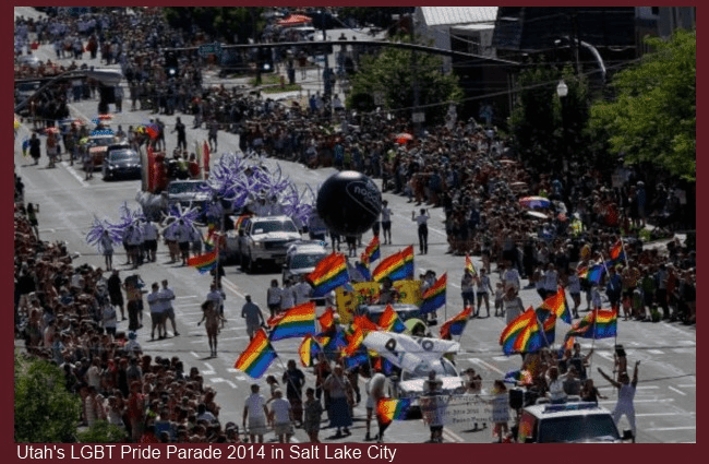 Utah LGBT Gay Pride Parade June 8, 2014