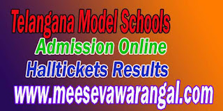 Telangana Model School 6th Class Online Application Apply