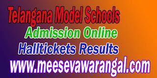 Telangana Model School 6th Class Online Application Apply