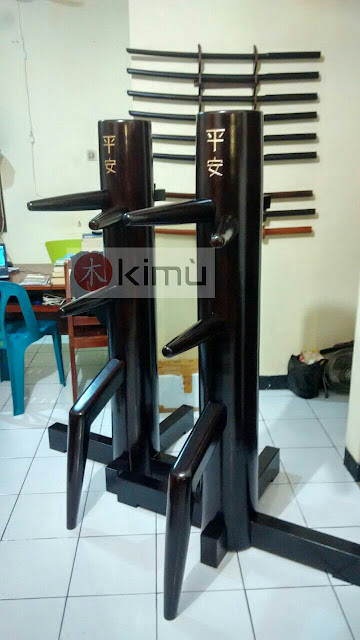 KIMU Dark Dragon Wooden Dummy / Mok Yan Jong / boneka kayu wing chun