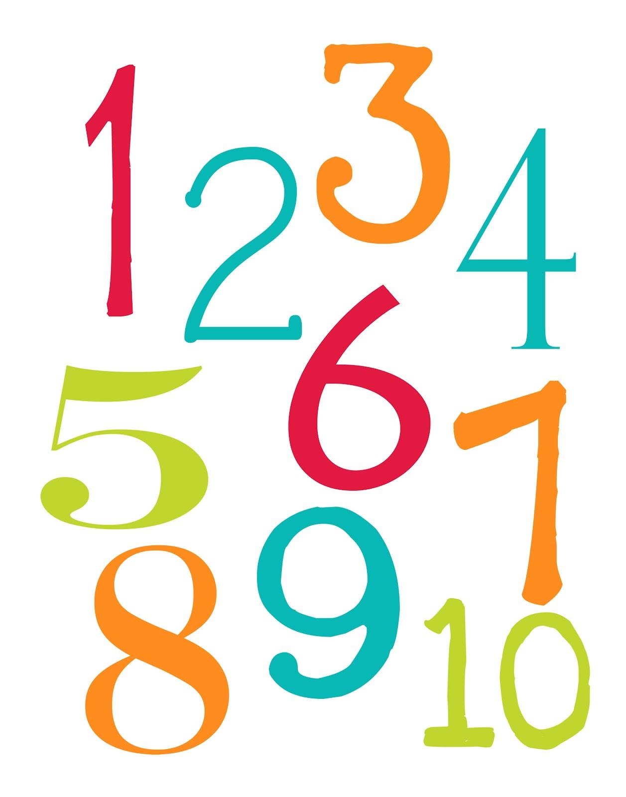 LAWTEEDAH: Alphabet and Number Poster