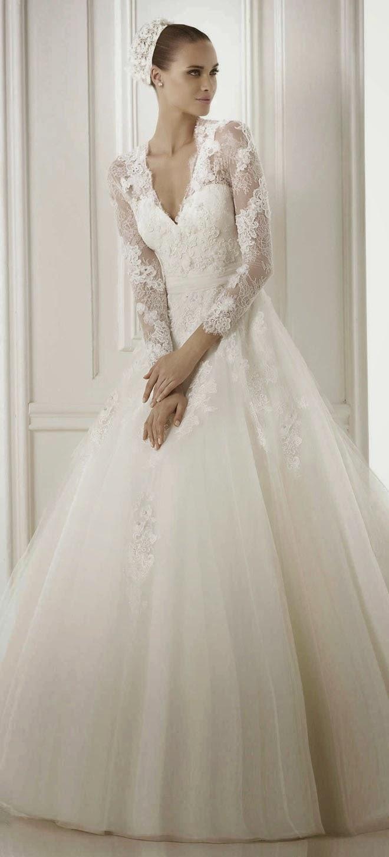 Spectacular Winter Wedding Dresses