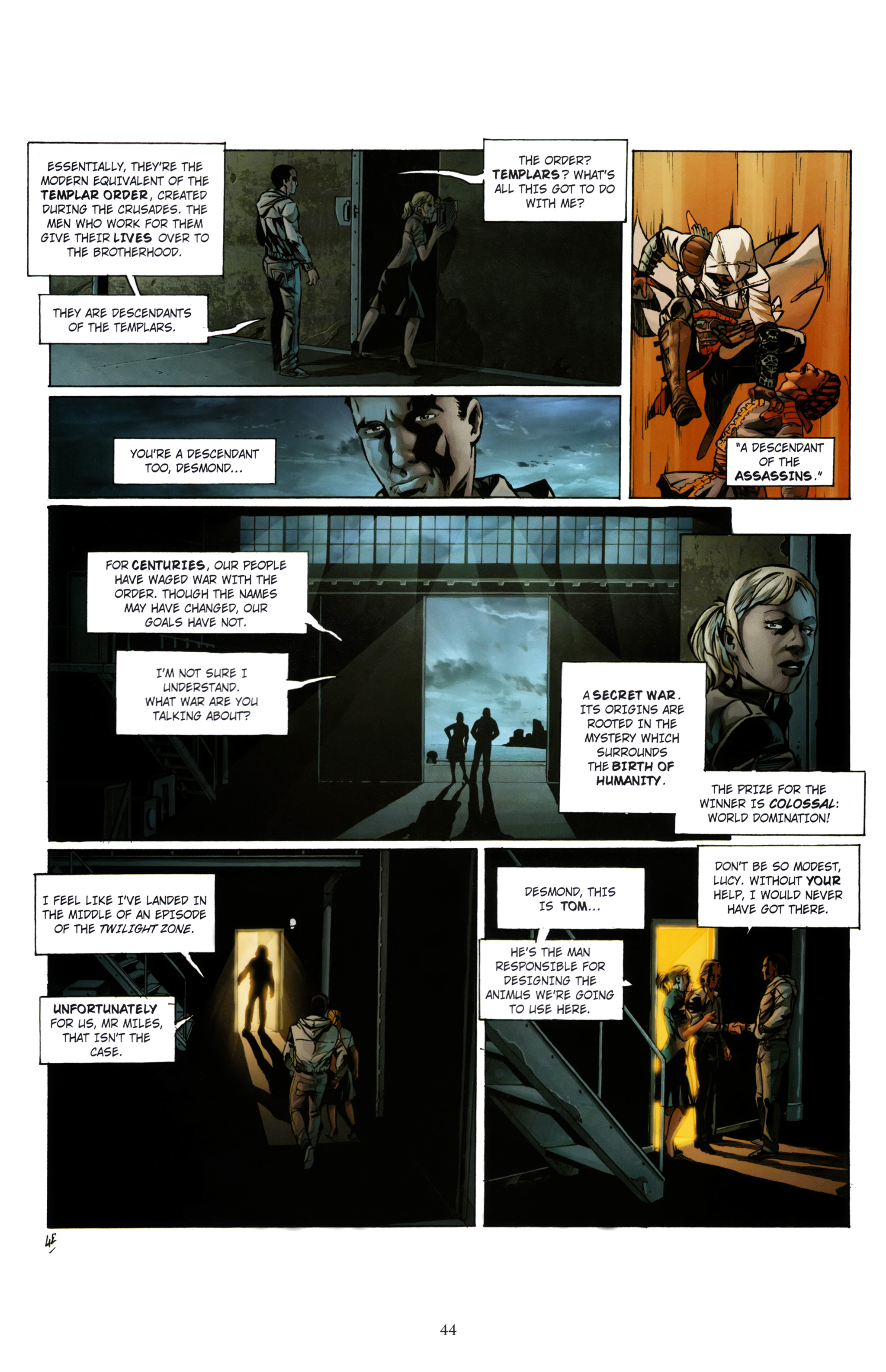 Read online Assassin's Creed (2012) comic -  Issue #1 - 48