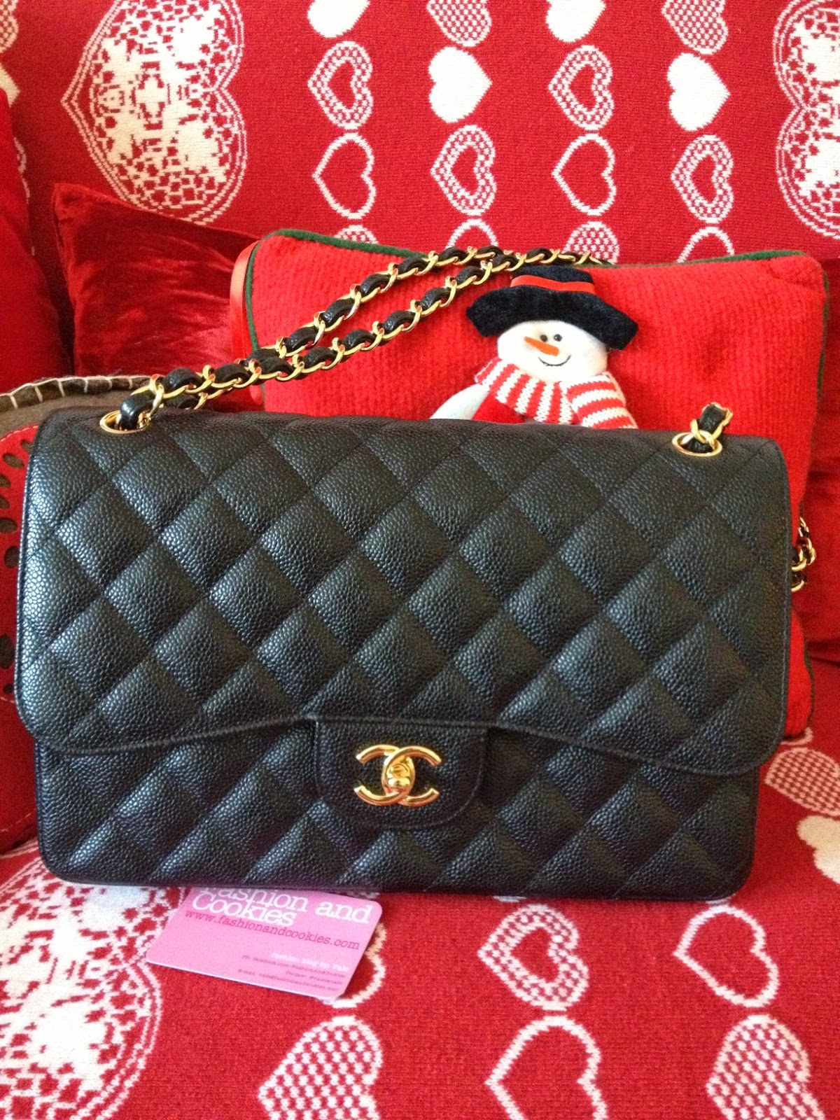 dad49e2624 My first Chanel Classic Flap bag | Fashion and Cookies - fashion and ...