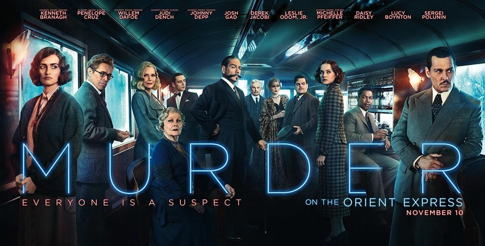 Resultado de imagem para Murder on the Orient Express 2017