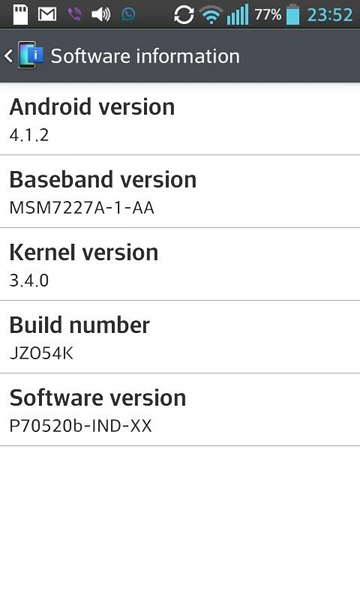 LG Optimus L7 gets Android 4.1.2 Jelly Bean OS