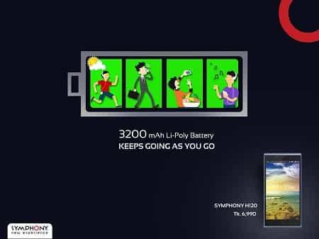 Symphony Xplorer H120 Smartphone