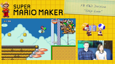 Super Mario Maker Facebook hackathon Ship Love winning level