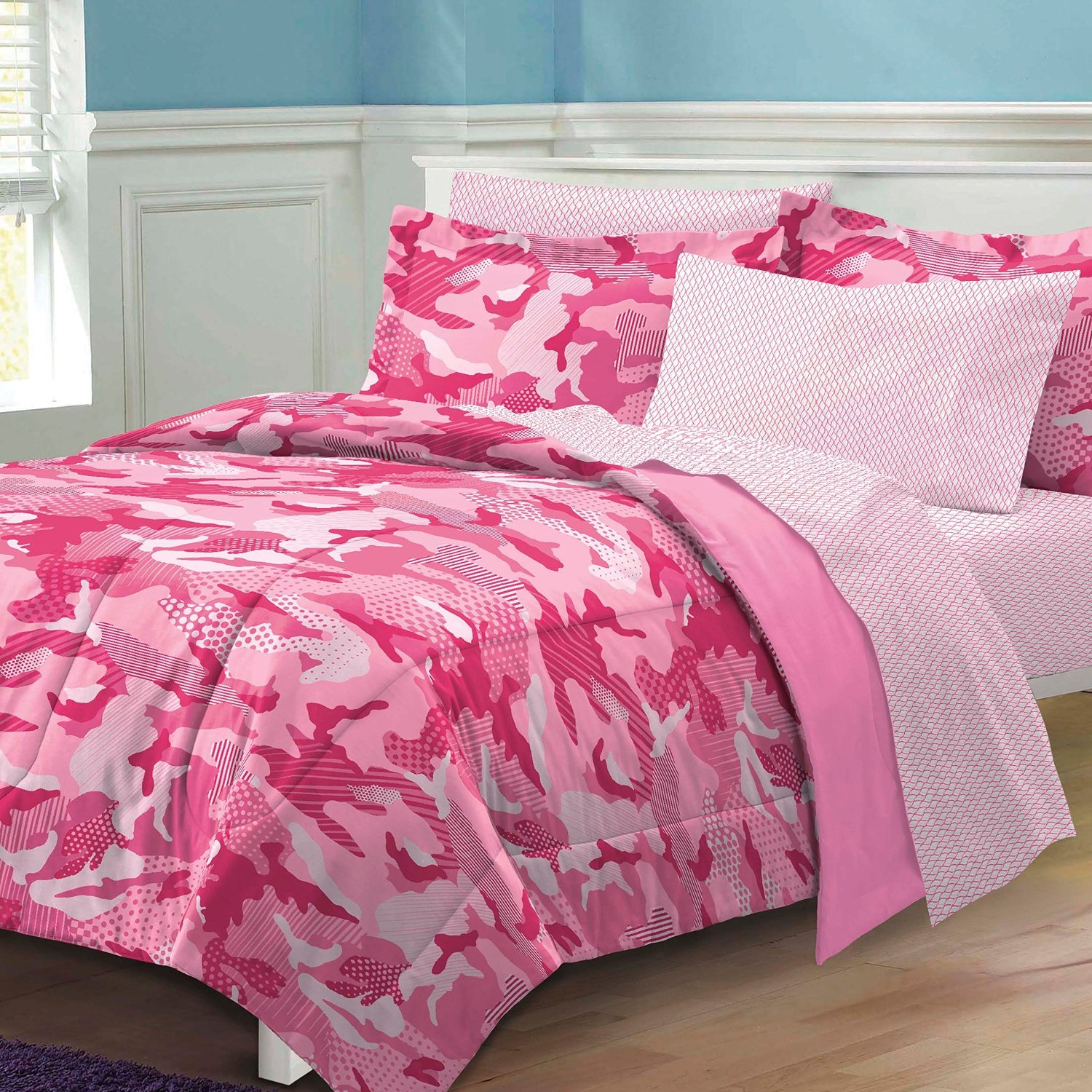Rooms To Go Bedroom Set Pink Camo Camouflage Comforters And Bedding For Girls Amp Teens