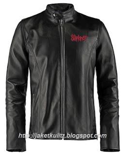Gambar Jaket Kulit Slipknot