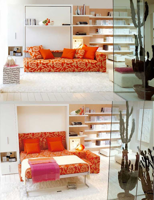 Sofa cama para huespedes - Pets for small spaces style ...