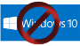 Just say NO to Win10!