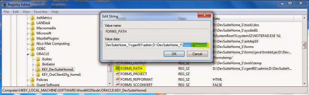 Amit ORACLE DBA  APPS DBA Blog******* frm-40039 or frm-10102 can\u0027t - p-l form