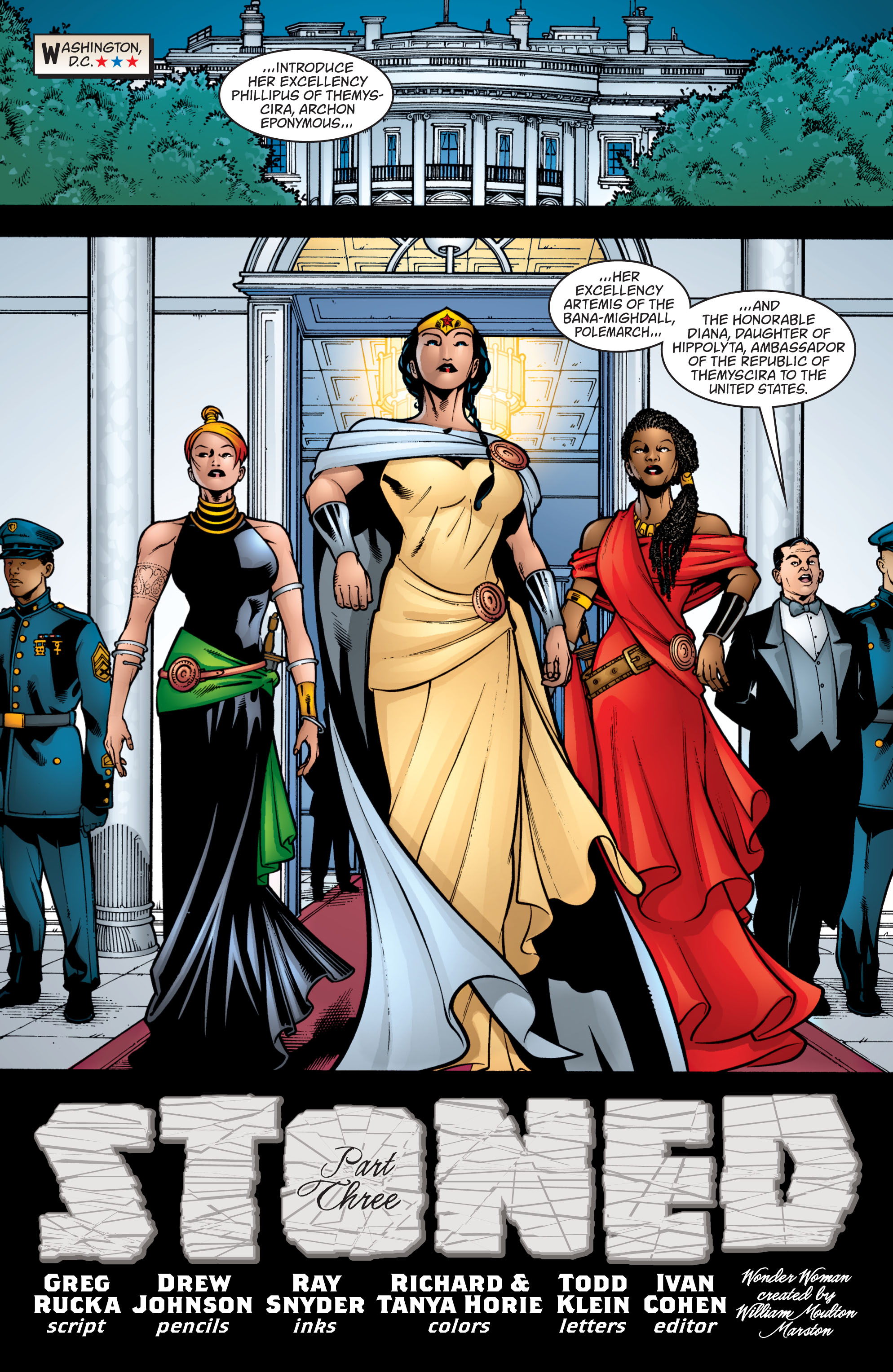 Read online Wonder Woman (1987) comic -  Issue #208 - 7