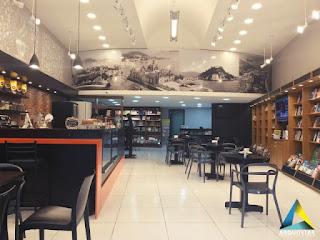 projeto arquitetura mobiliário café