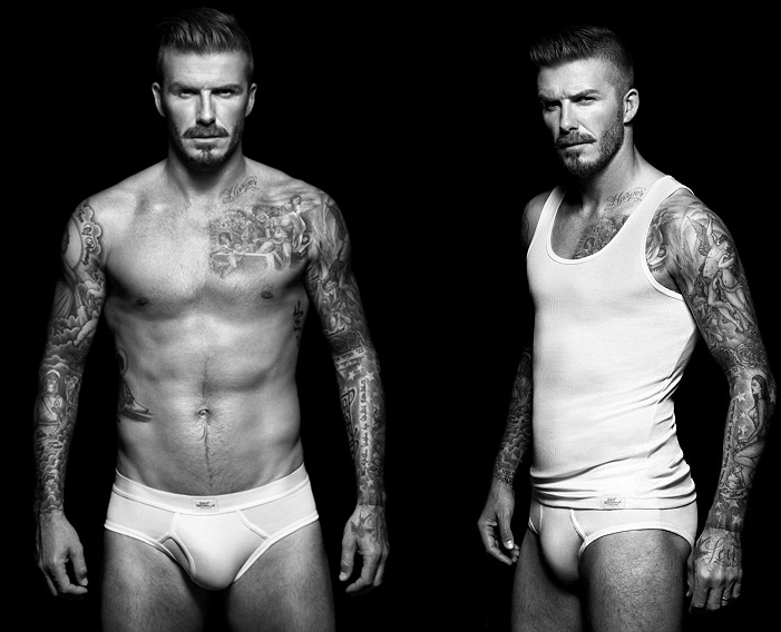 David beckham gets new tattoo, gives us excuse to post hot pics of him
